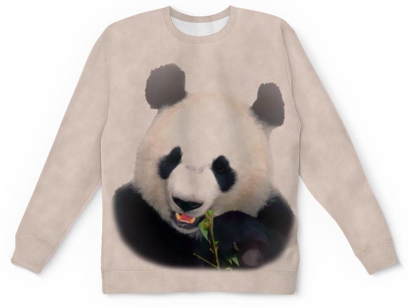 Свитшот унисекс с полной запечаткой Printio Панда свитшот print bar панда гангста
