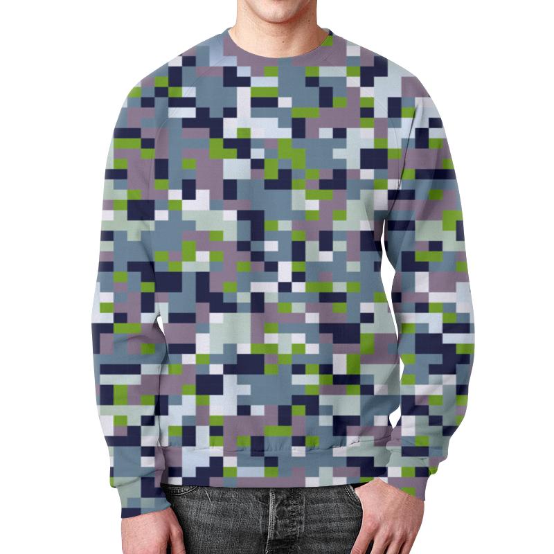 Свитшот мужской с полной запечаткой Printio Пиксельный