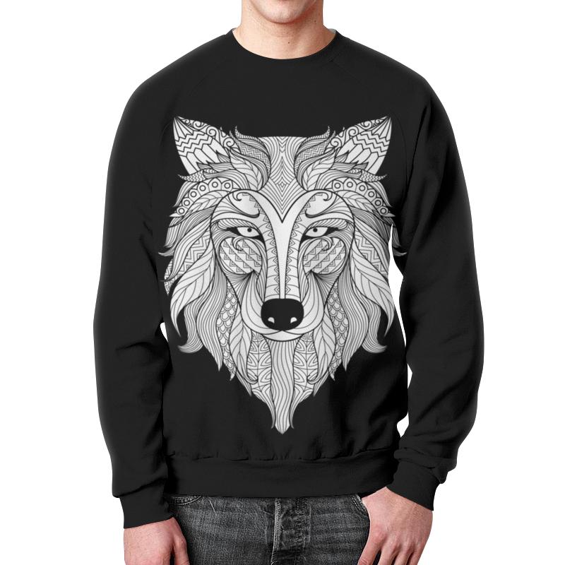 Фото - Свитшот унисекс с полной запечаткой Printio Голова волка свитшот унисекс с полной запечаткой printio голова тигра