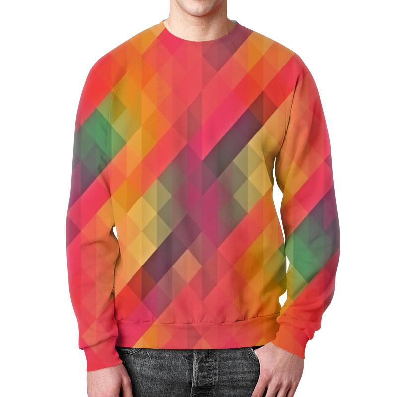 Свитшот мужской с полной запечаткой Printio Многоцветный rosalind многоцветный