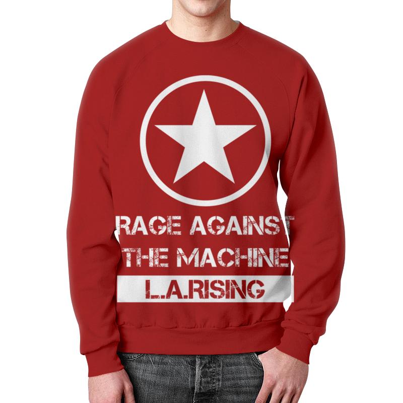 Свитшот мужской с полной запечаткой Printio Rage against the machine цены