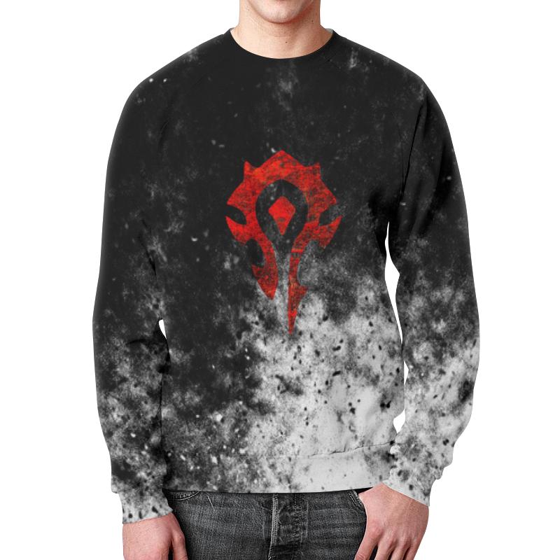 Фото - Свитшот мужской с полной запечаткой Printio Warcraft свитшот унисекс с полной запечаткой printio алфавит