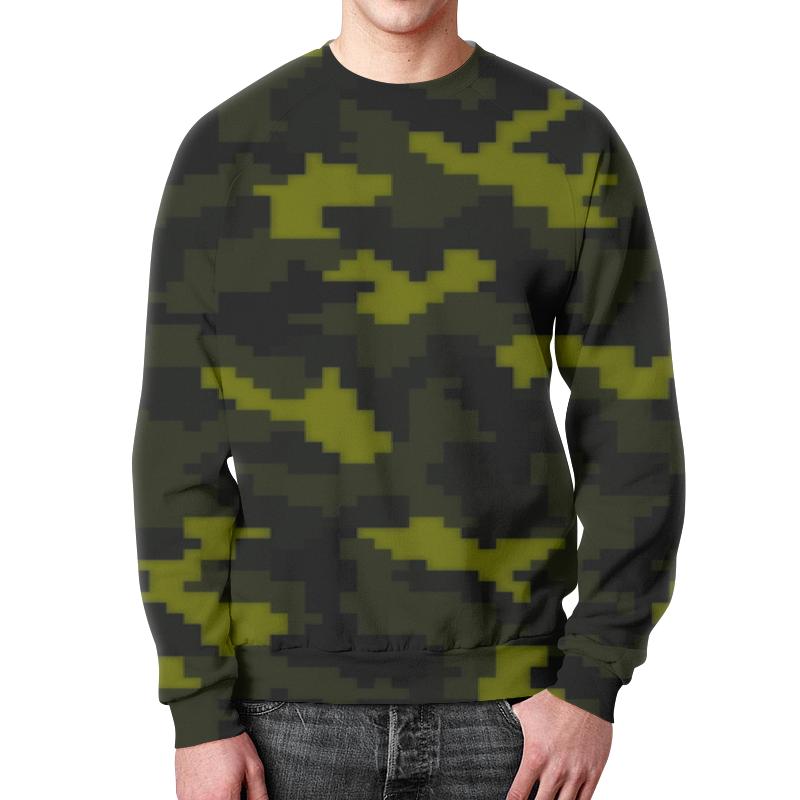 Свитшот мужской с полной запечаткой Printio Night camouflage xintown camouflage winter long sleeved
