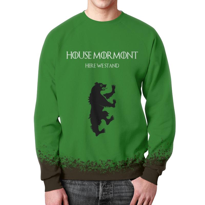 Свитшот мужской с полной запечаткой Printio House mormont свитшот print bar house md