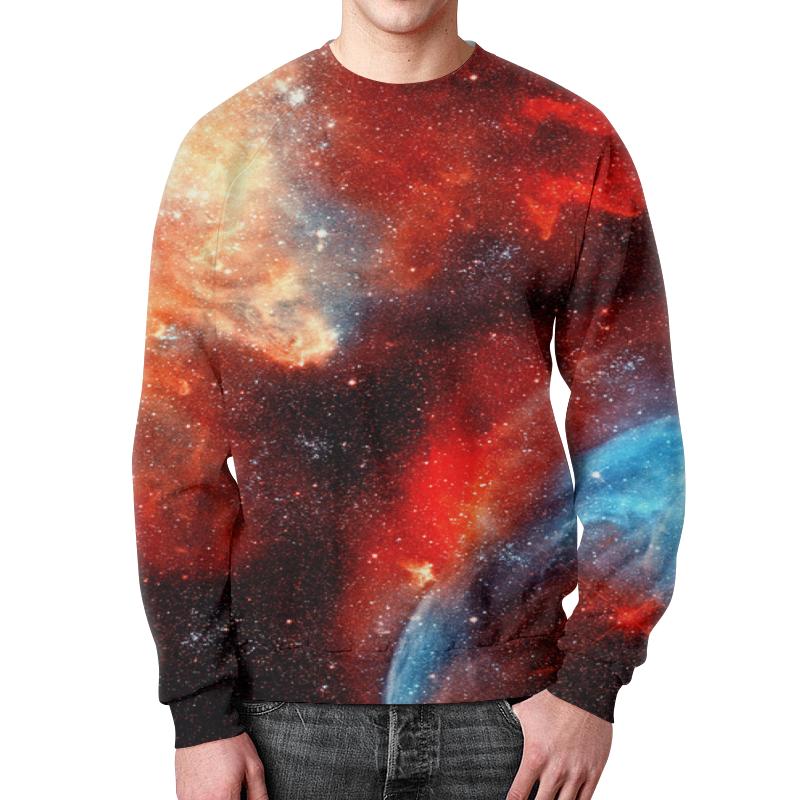 Фото - Свитшот мужской с полной запечаткой Printio Космос свитшот унисекс с полной запечаткой printio космос
