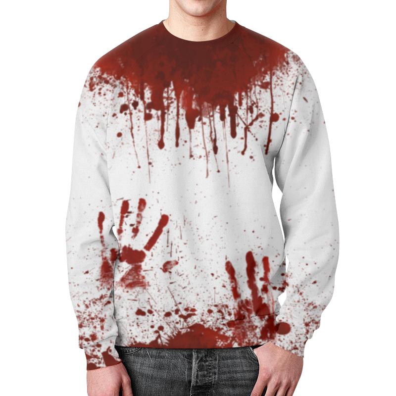 Свитшот мужской с полной запечаткой Printio Кровь свитшот print bar 002 слава и кровь