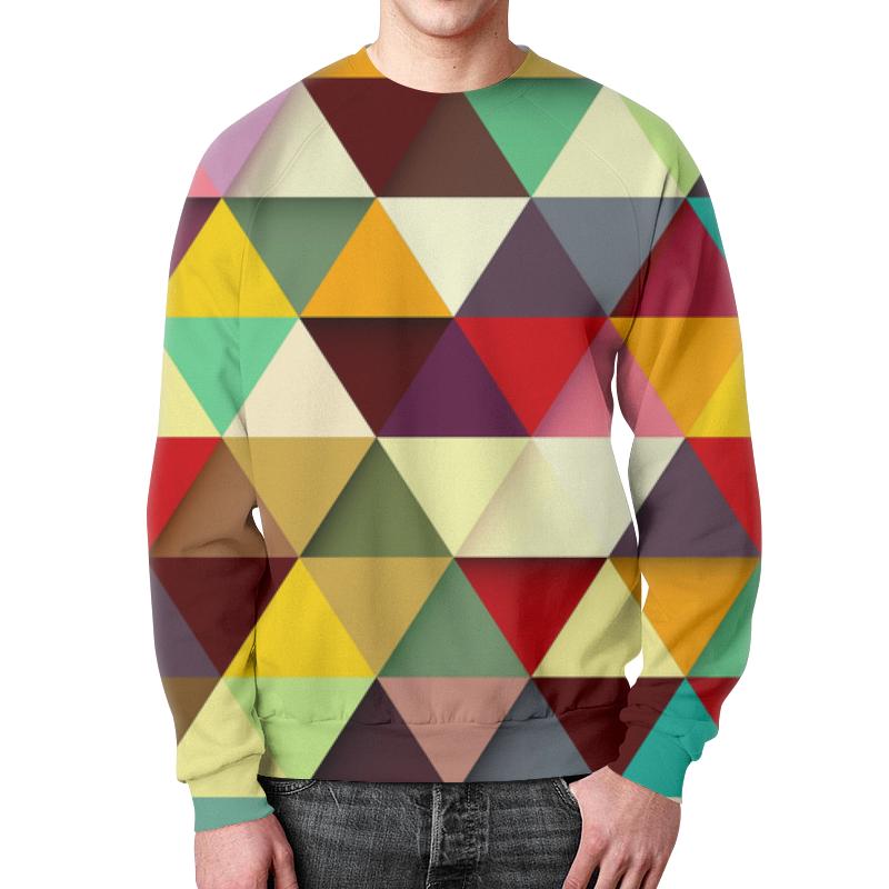 Фото - Свитшот мужской с полной запечаткой Printio Абстракция свитшот мужской с полной запечаткой printio кубики