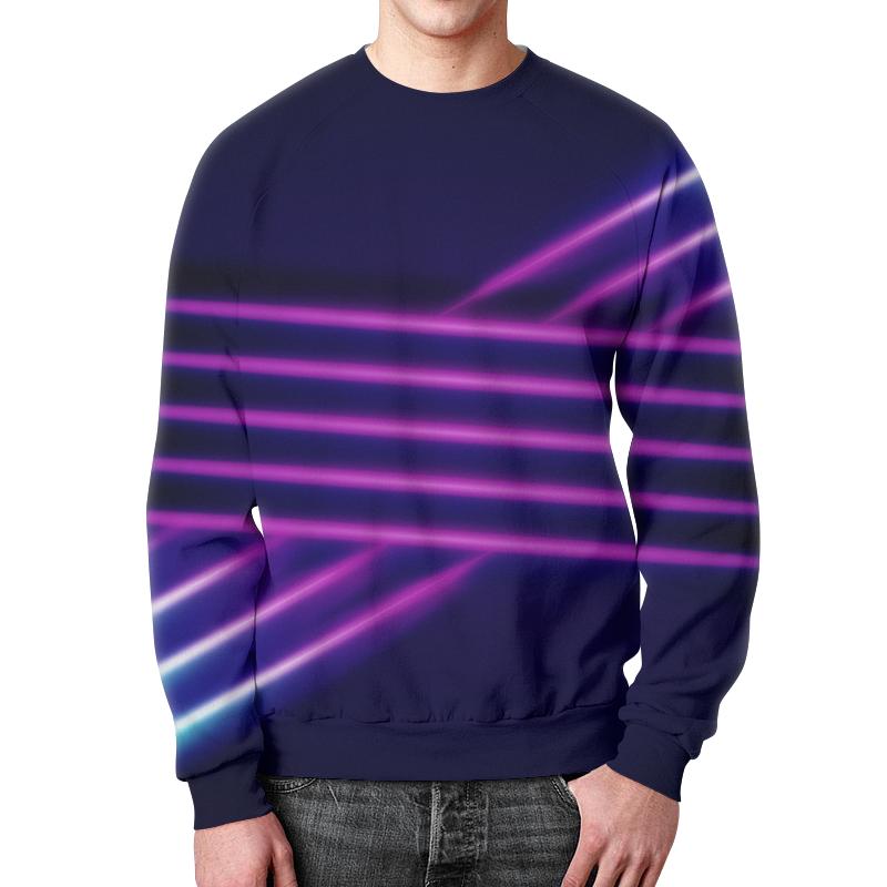 Свитшот мужской с полной запечаткой Printio Абстрактные линии свитшот мужской с полной запечаткой printio абстрактные волны