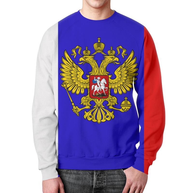 Свитшот унисекс  полной запечаткой Printio Россия