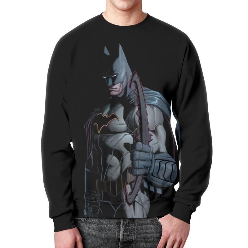 Свитшот унисекс с полной запечаткой Printio Бэтмен