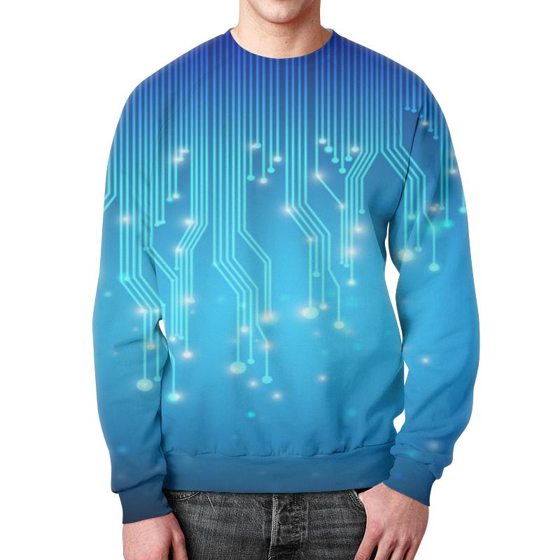 Свитшот мужской с полной запечаткой Printio Tehnology футболка с полной запечаткой для мальчиков printio tehnology