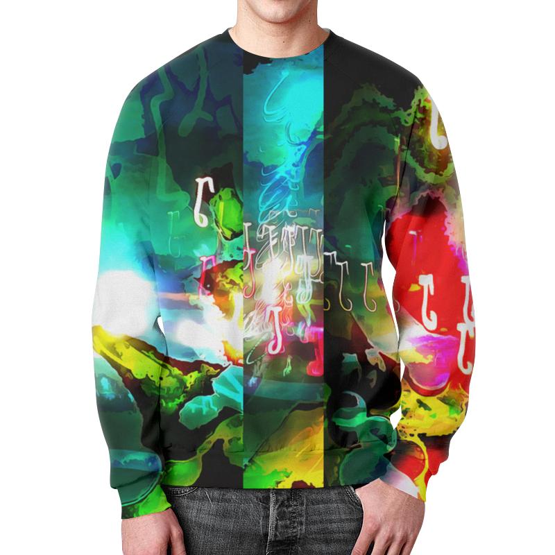 Свитшот мужской с полной запечаткой Printio Abstract raster 160 леггинсы printio abstract raster 160