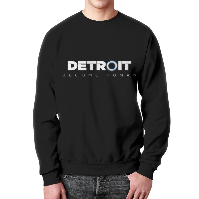 Свитшот мужской с полной запечаткой Printio Detroit become human свитшот унисекс с полной запечаткой printio detroit become human