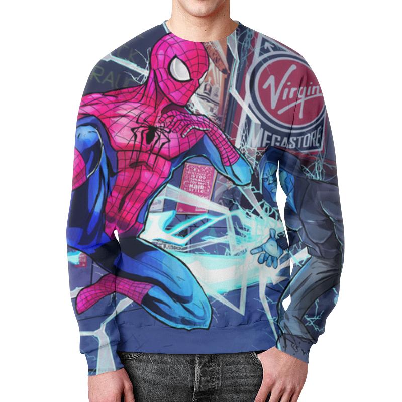 Свитшот унисекс с полной запечаткой Printio Человек паук свитшот print bar человек паук