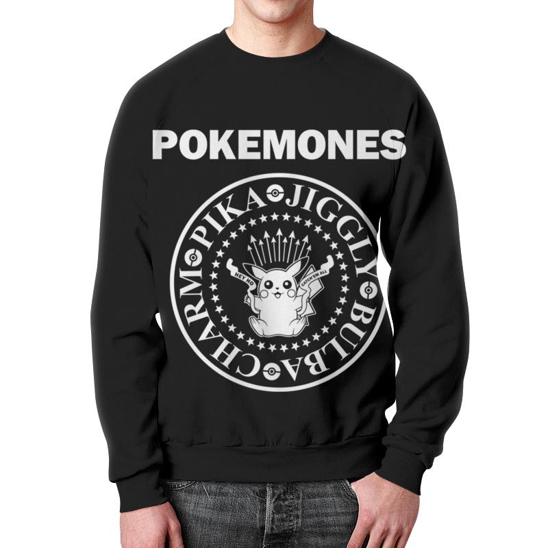 Свитшот мужской с полной запечаткой Printio Покемоны свитшот print bar покемоны