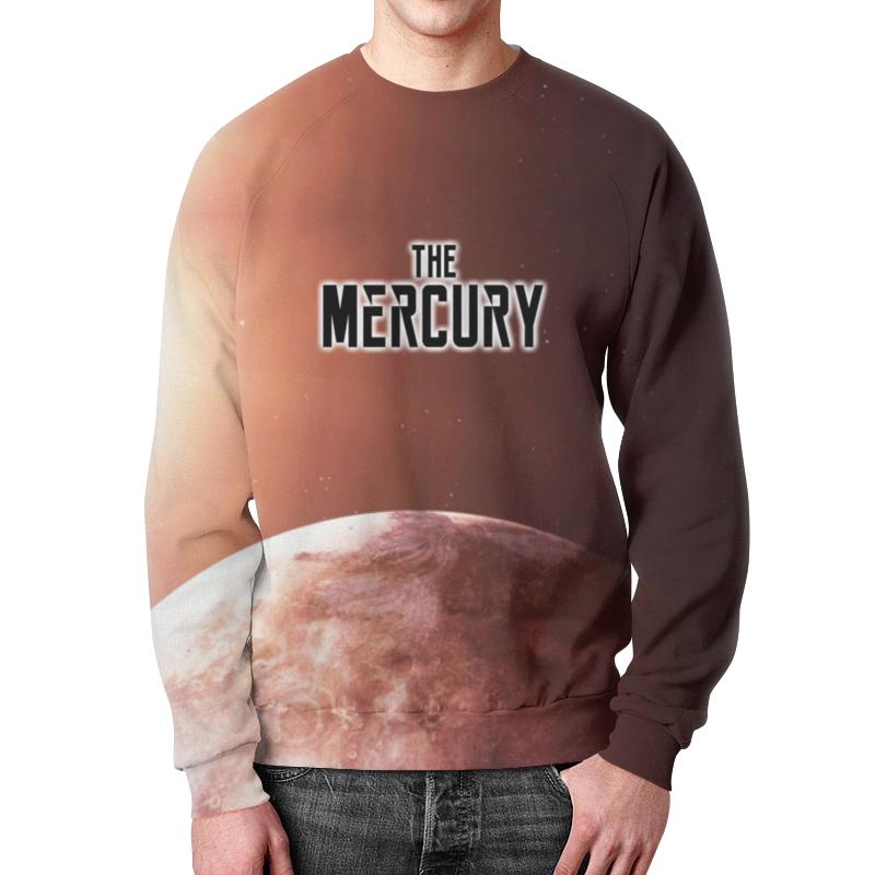 Printio The mercury (the planet) свитшот print bar save the planet