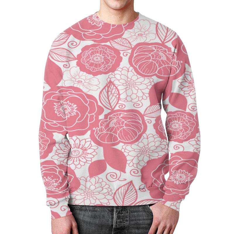 Printio Бело-розовый узор недорого