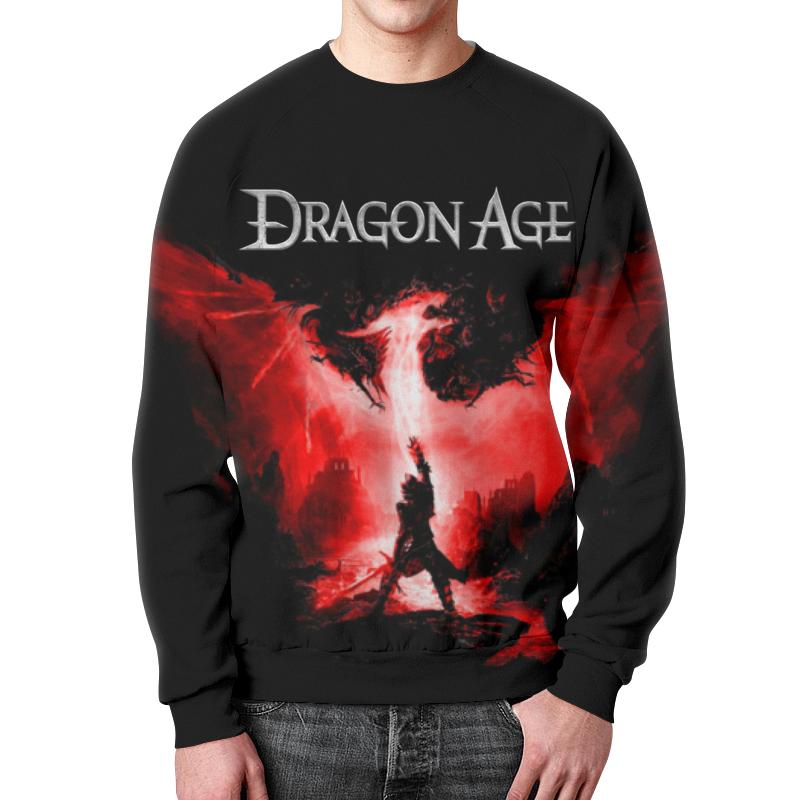 Свитшот мужской с полной запечаткой Printio Dragon age dragon age omnibus