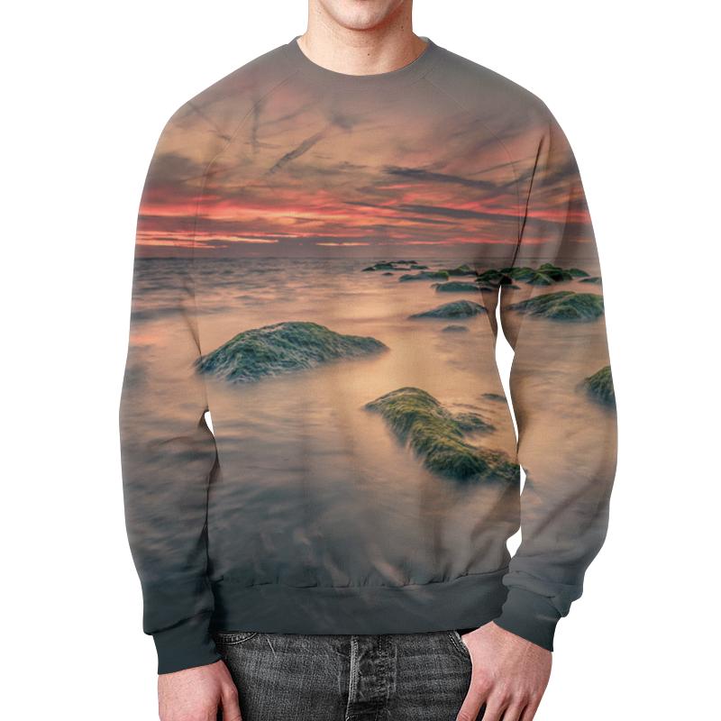 Свитшот мужской с полной запечаткой Printio Острова калека с острова инишмаан