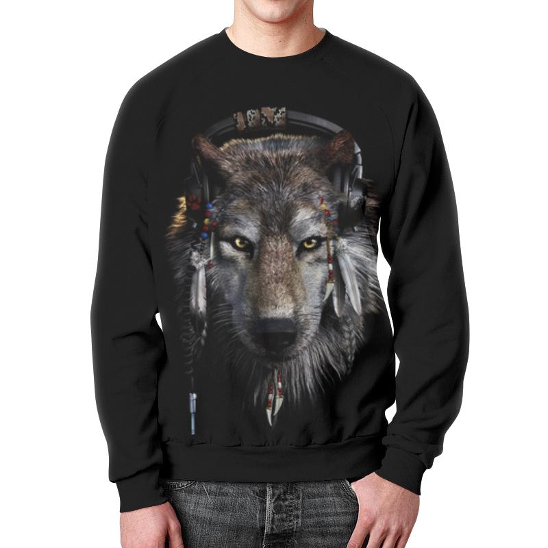 цена Printio Волк в наушниках онлайн в 2017 году