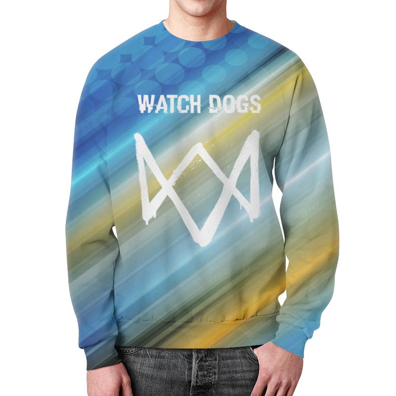 Свитшот унисекс с полной запечаткой Printio Watch dogs свитшот print bar funny dogs