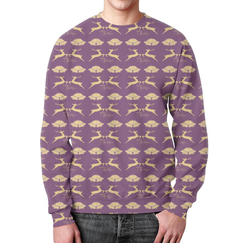 Свитшот мужской с полной запечаткой Printio Christmas свитшот print bar christmas fox
