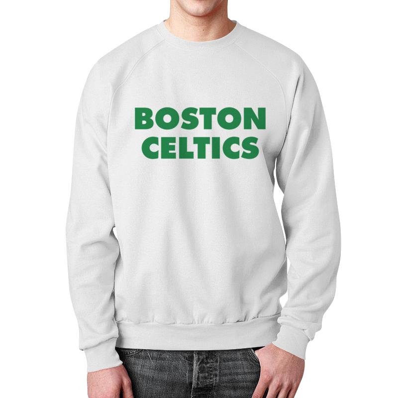 Свитшот унисекс с полной запечаткой Printio Boston celtics белая дмитрий потапов команды – команды – команды