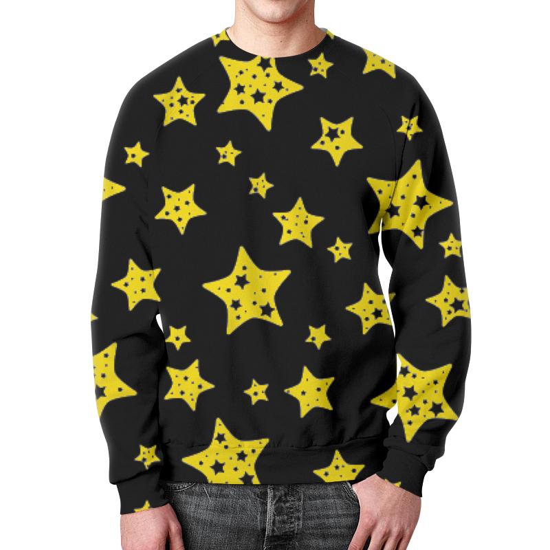 Свитшот унисекс с полной запечаткой Printio Звёзды свитшот унисекс с полной запечаткой printio карта звёздного неба