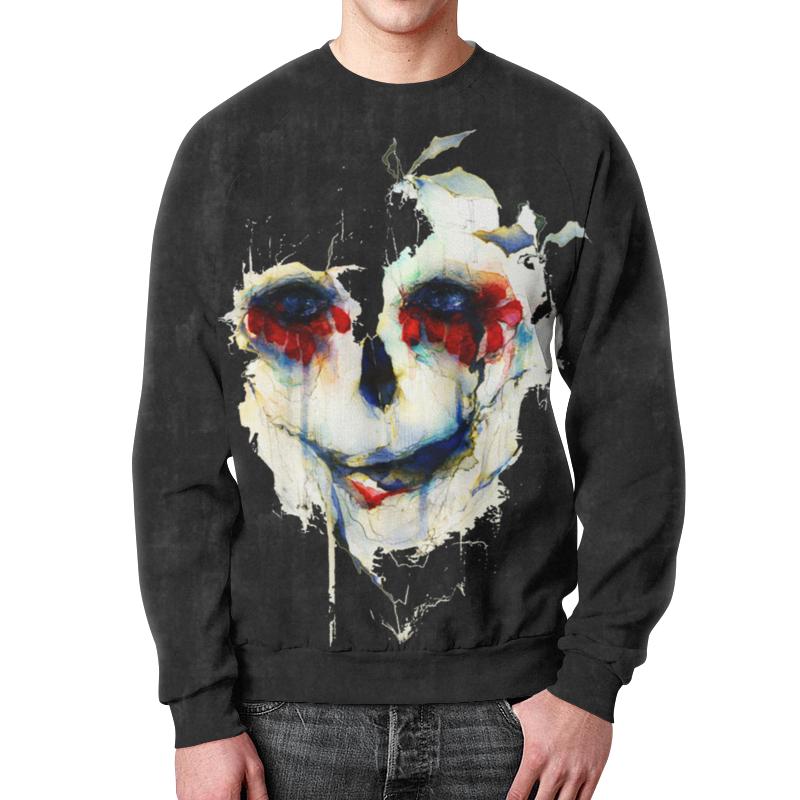 Свитшот унисекс с полной запечаткой Printio Череп (skull) свитшот print bar hardcore punk skull
