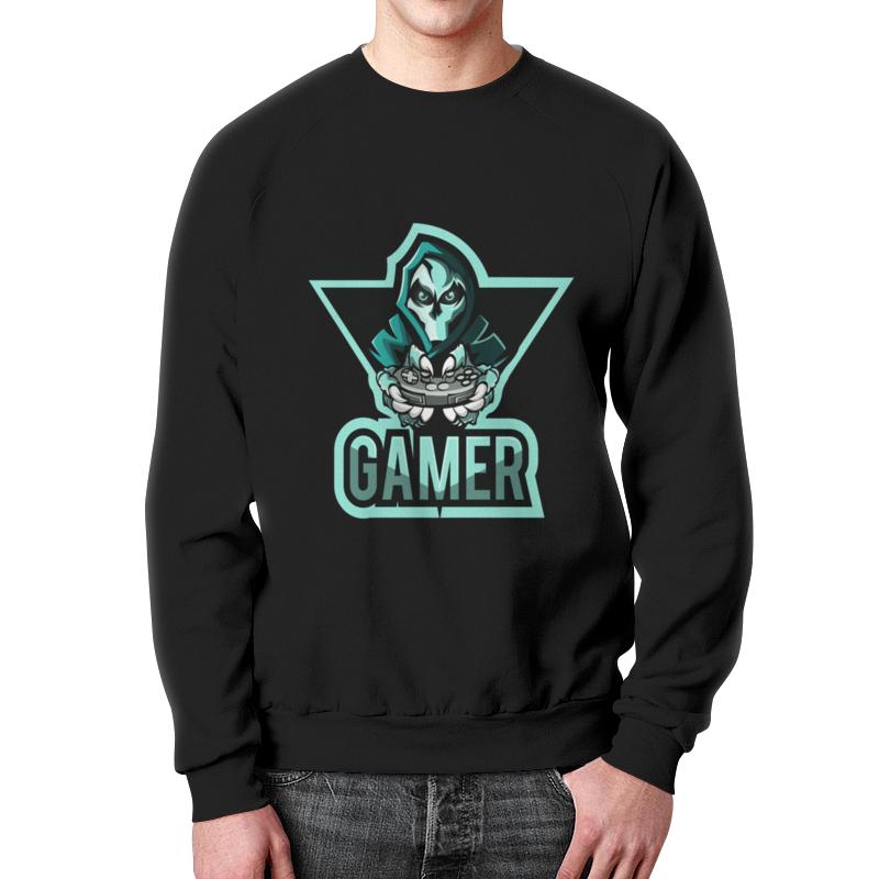 Свитшот мужской с полной запечаткой Printio Gamer свитшот print bar pro gamer page 6