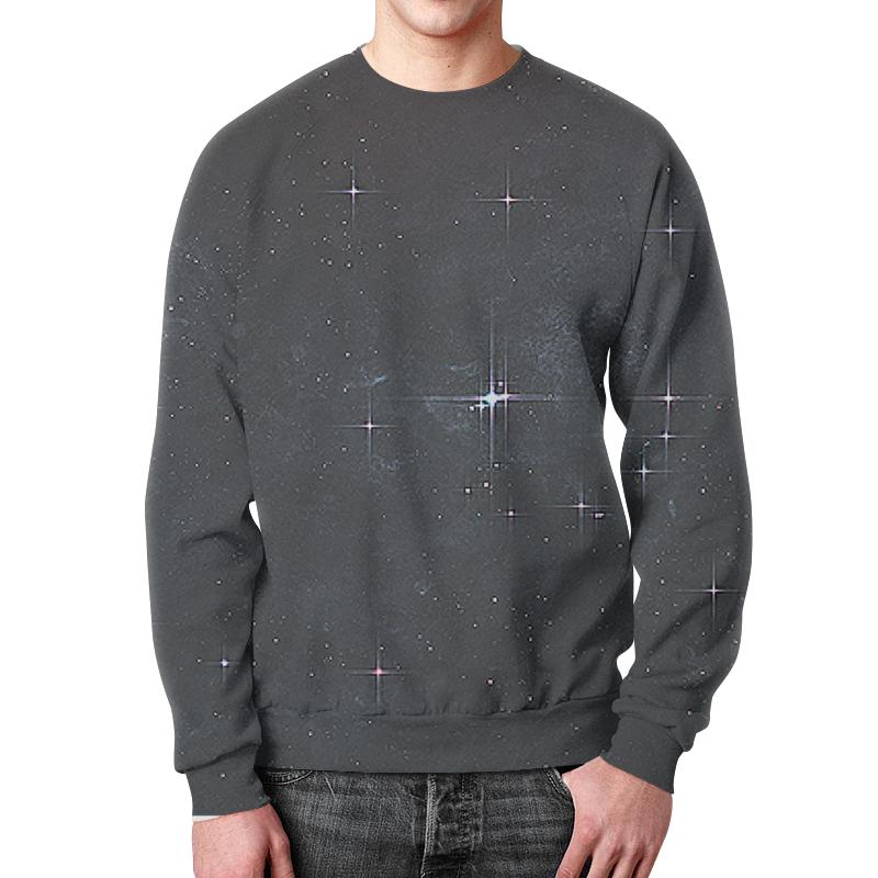 Свитшот мужской с полной запечаткой Printio Звёзды свитшот унисекс с полной запечаткой printio карта звёздного неба