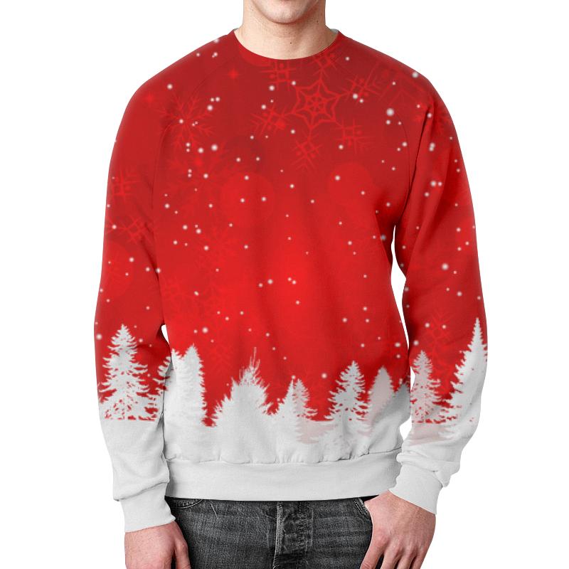 Фото - Свитшот мужской с полной запечаткой Printio Christmas свитшот унисекс с полной запечаткой printio алфавит