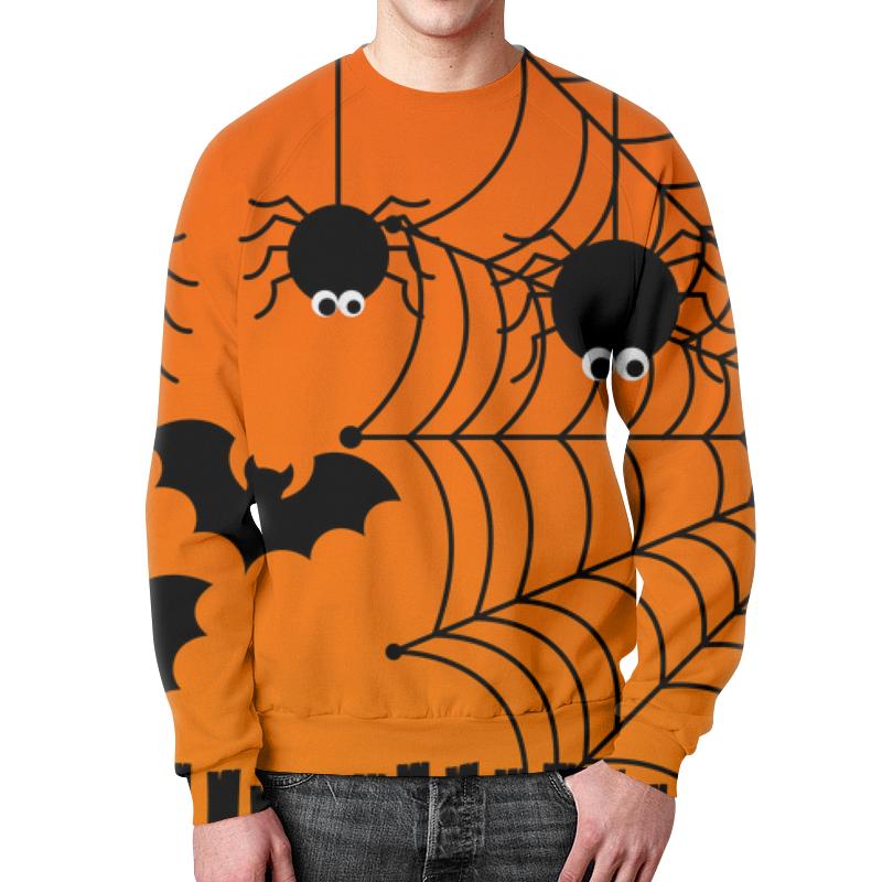 Фото - Свитшот мужской с полной запечаткой Printio Halloween свитшот унисекс с полной запечаткой printio алфавит