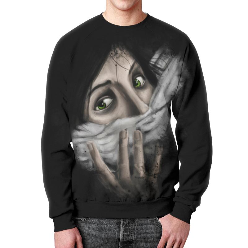 купить Свитшот унисекс с полной запечаткой Printio Art horror по цене 2083 рублей