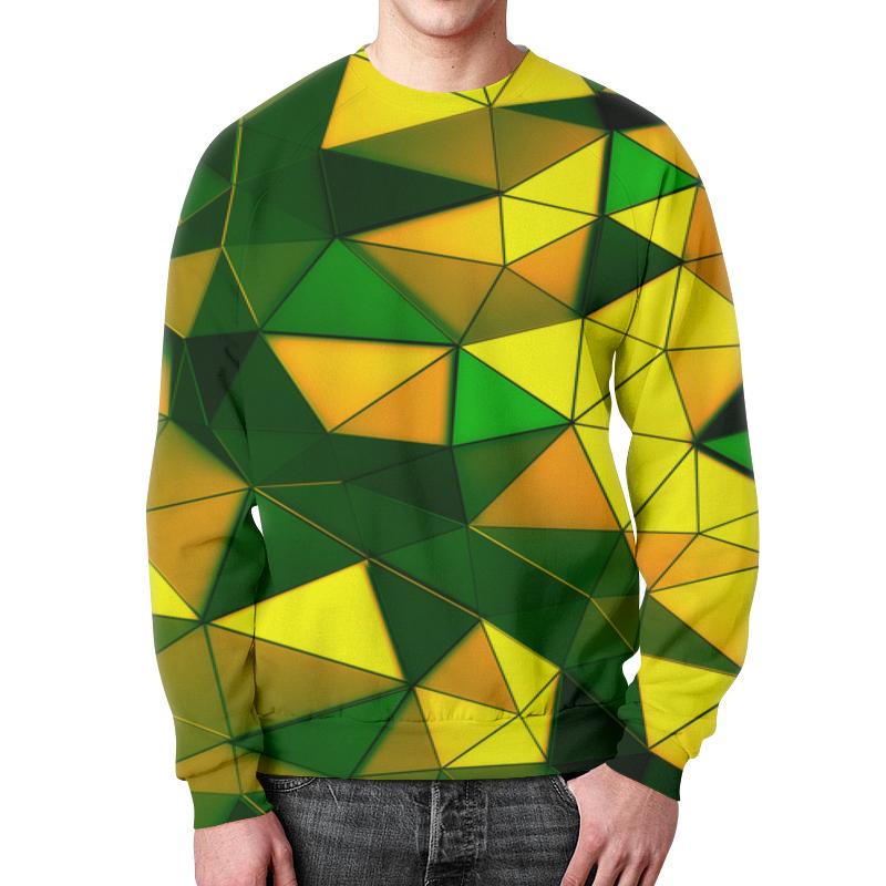 Фото - Printio Желто-зеленые стекла свитшот мужской с полной запечаткой printio зеленые линии