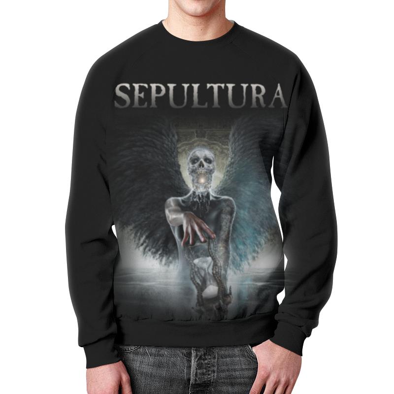 Свитшот унисекс с полной запечаткой Printio Sepultura цены онлайн