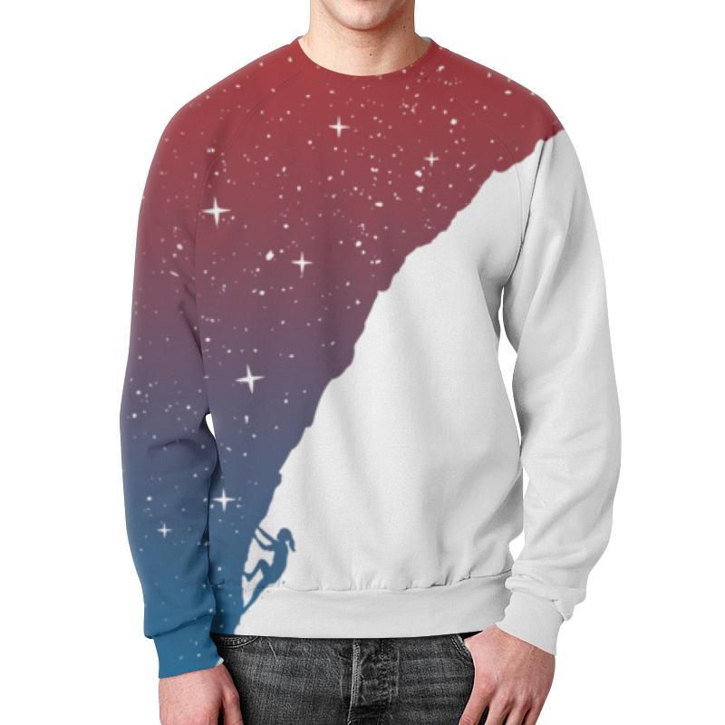 Свитшот мужской с полной запечаткой Printio Звездная гора свитшот print bar гора