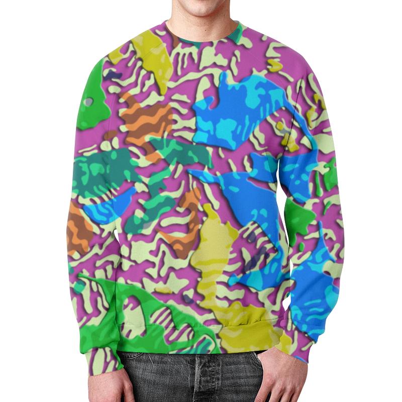 Свитшот унисекс с полной запечаткой Printio Camouflage 3d