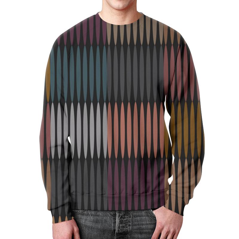 Свитшот унисекс с полной запечаткой Printio Цветная абстракция детский свитшот унисекс printio цветная абстракция