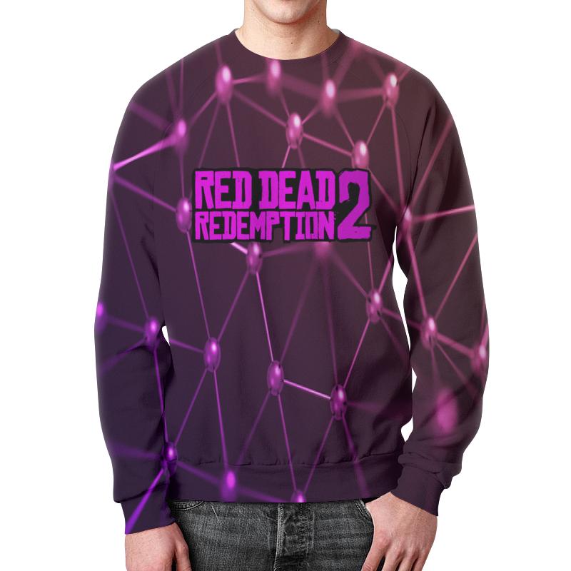 Свитшот мужской с полной запечаткой Printio Red dead redemption 2 цена и фото