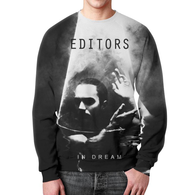 Свитшот мужской с полной запечаткой Printio Editors editors editors in dream