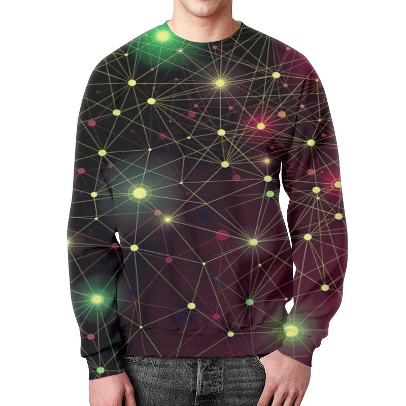 Фото - Свитшот мужской с полной запечаткой Printio Созвездие футболка с полной запечаткой женская printio созвездие рака
