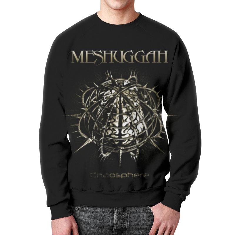 Фото - Свитшот мужской с полной запечаткой Printio Meshuggah свитшот унисекс с полной запечаткой printio алфавит