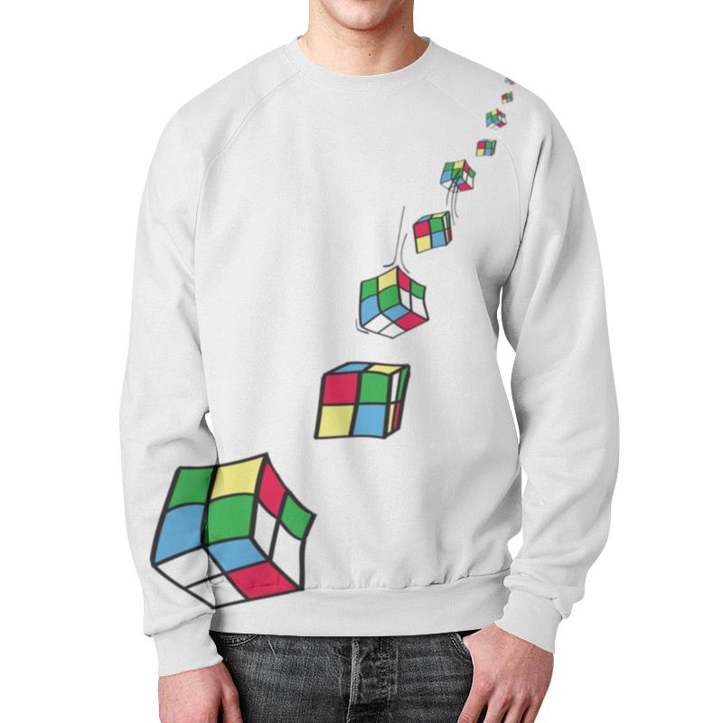 Свитшот унисекс с полной запечаткой Printio Кубик рубика команда которую создал я