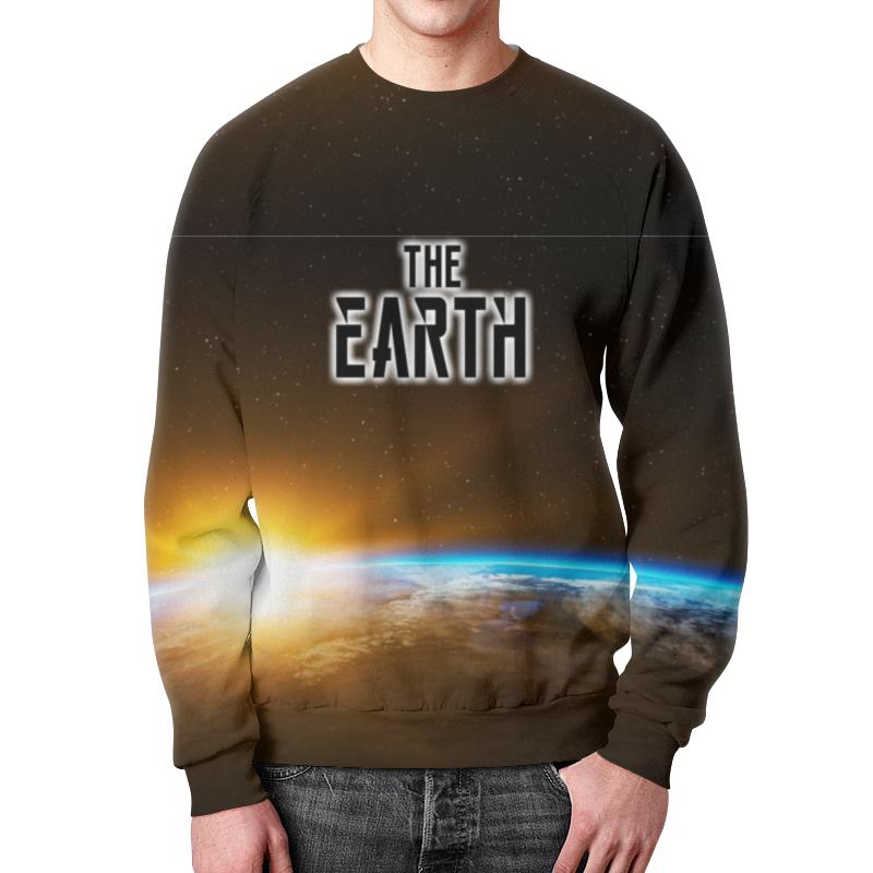 Printio The earth (the planet) свитшот print bar save the planet