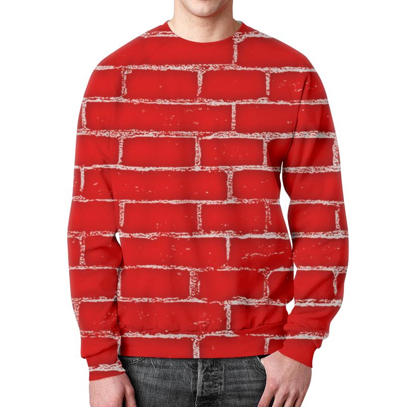 Свитшот мужской с полной запечаткой Printio Стена 95
