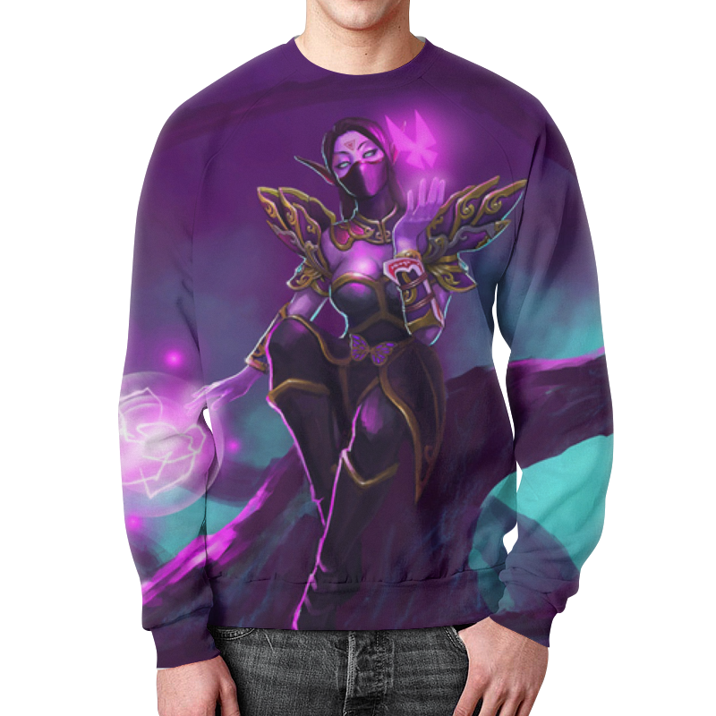 все цены на Свитшот мужской с полной запечаткой Printio Warcraft collection