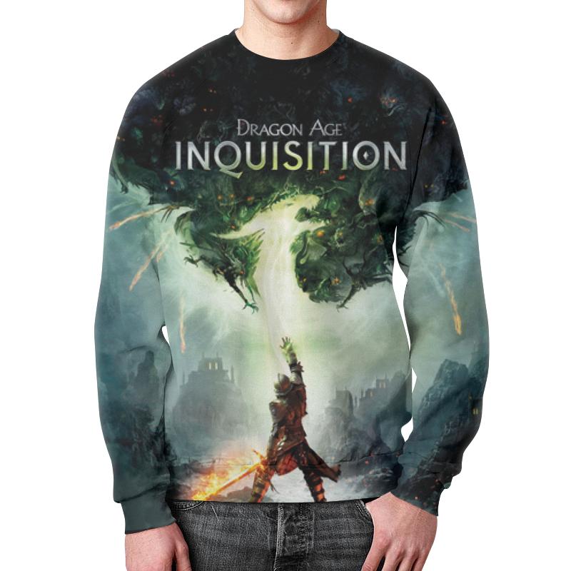Свитшот мужской с полной запечаткой Printio Dragon age inquisition dragon age omnibus