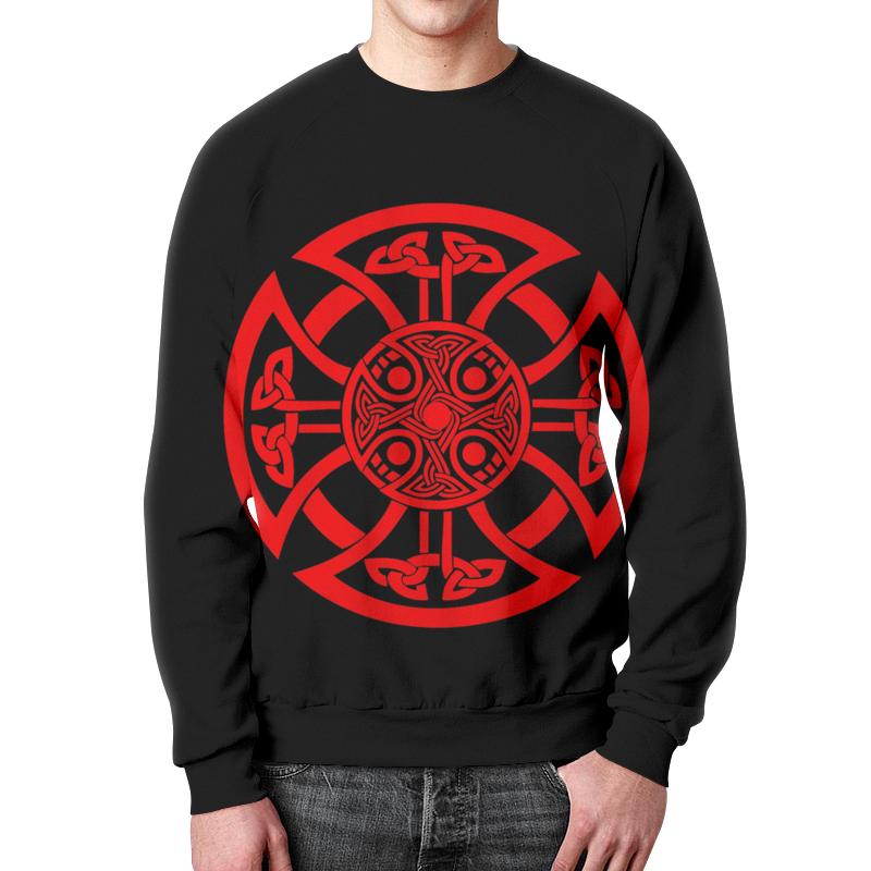 Свитшот мужской с полной запечаткой Printio Очень древнийе знаки символы магия.мандала. матин и янтры защитные символы востока