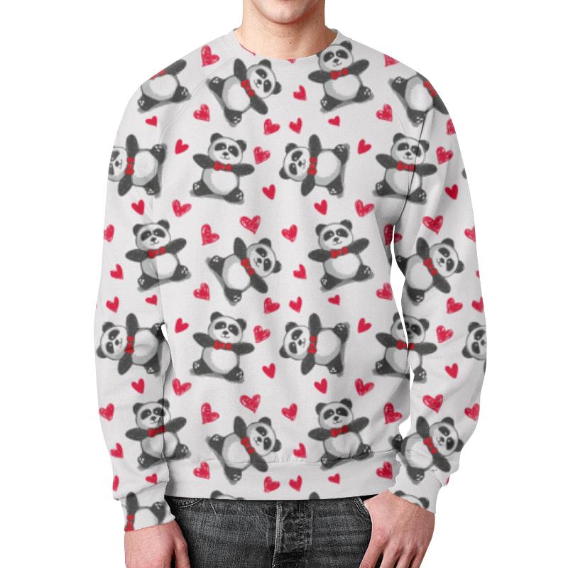Свитшот мужской с полной запечаткой Printio Мишки панда свитшот унисекс с полной запечаткой printio мишки панда